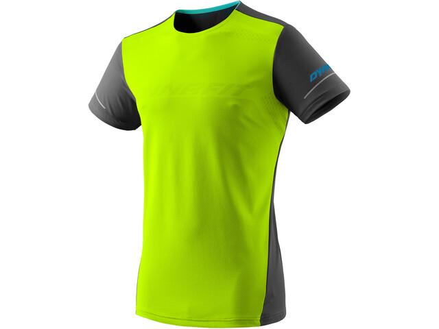 Dynafit Alpine Koszulka z krótkim rękawem Mężczyźni, żółty/czarny
